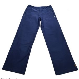 Lucy Everyday Collection Navy Blue Stretch Pants M